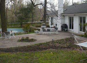 Pool View, Before