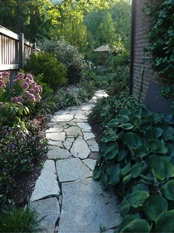 Image of garden path