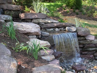 Image of waterfall