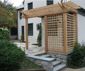 Image of pergola and patio