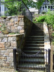 Image of outdoor steps