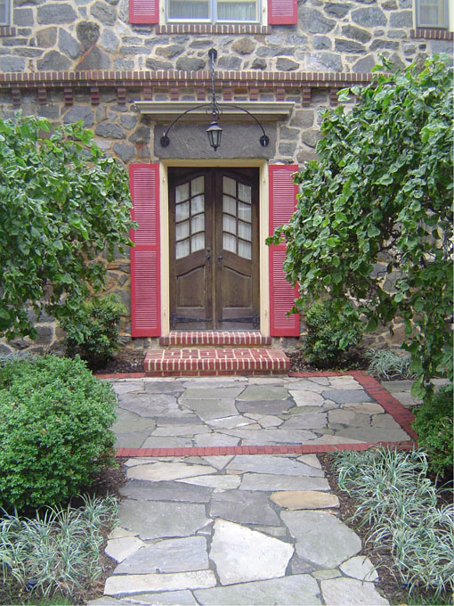 Baltimore City / Guilford Stone Entry