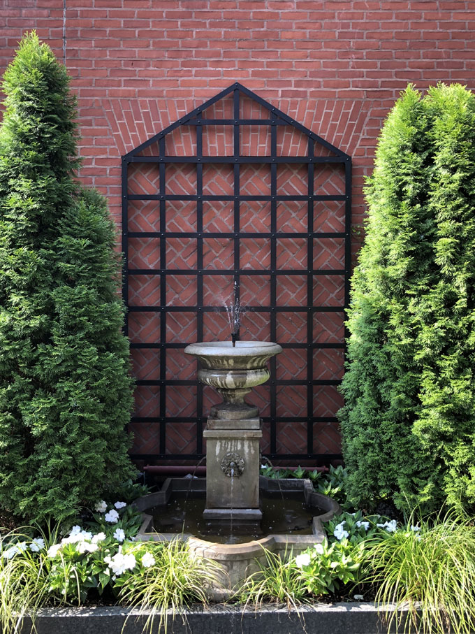 image of ivy hotel landscaping baltimore