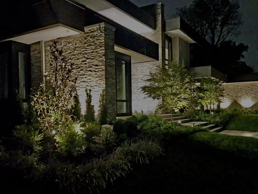 image of outdoor lighting landscape baltimore