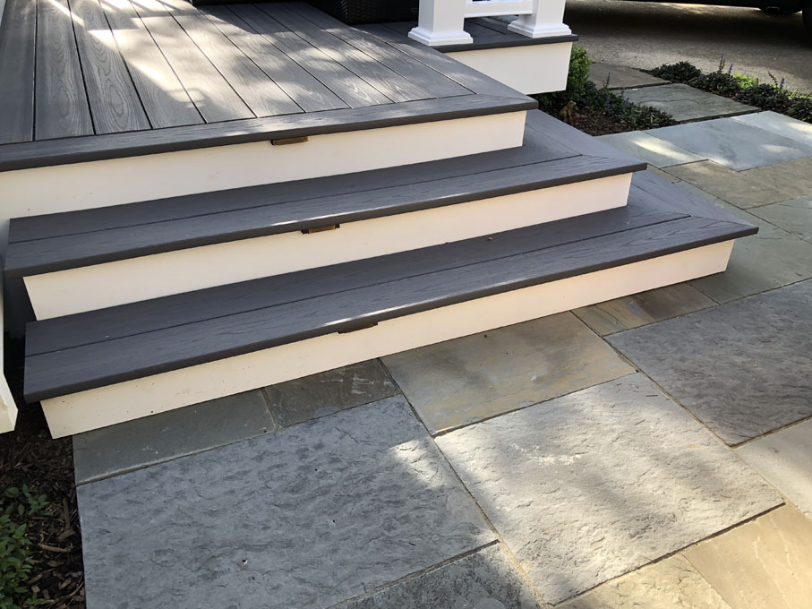 image of patio steps